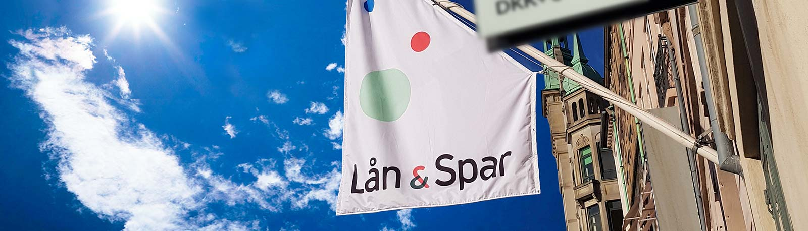 Lån & Spar Bank flag